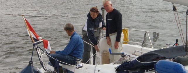 Manoeuvreren met een zeiljacht of motorboot